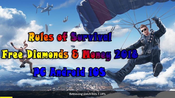 rules of survival hack diamonds