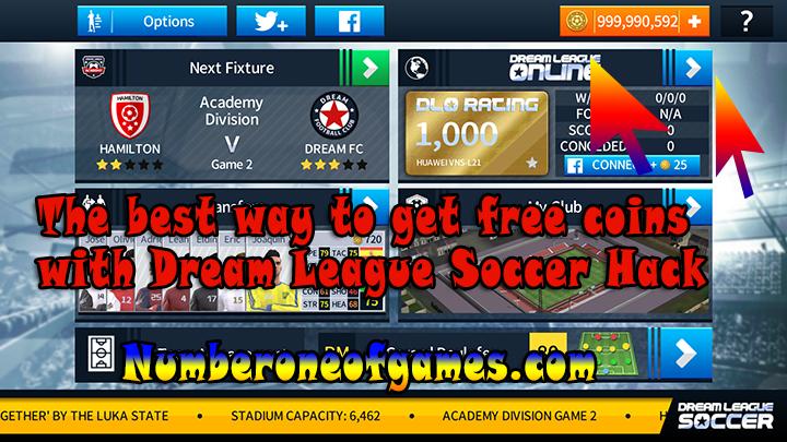 dream league soccer hack proof coins